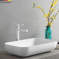DuranRyan artificial stone thin edge basin stone basin contracted basin household wash basin
