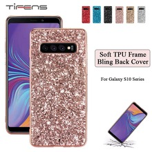 Bling Case For Samsung Galaxy Note 10 + S8 S9 S10 E A6 A8 J4 J6 Plus A7 A9 2018 A80 A70 A60 A50 A40 A30 A20 A10 A20E Back Cover
