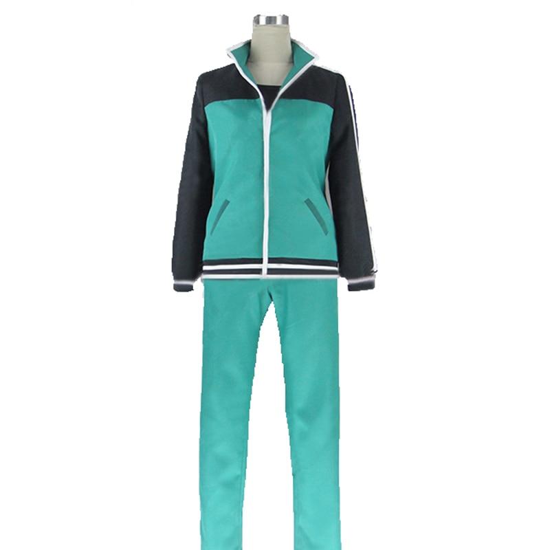 free shipping Kono Subarashii Sekai ni Shukufuku o! KonoSuba Kazuma Satou Cosplay Costume coat and pants