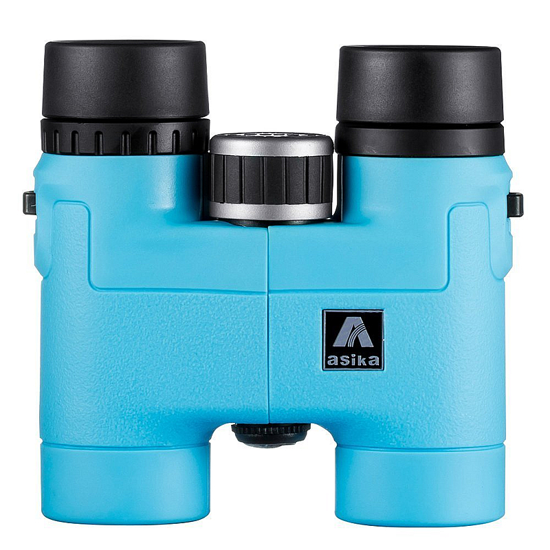 цены New Sky Blue Compact Binoculars 8x32 for Bird Watching Lightweight Magnesium Alloy Body with strap Pocket Size High Clear Vision