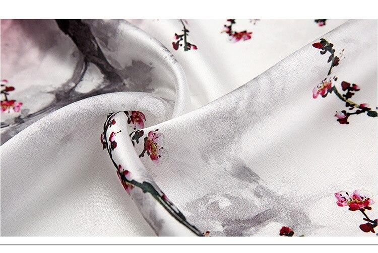 MAZ-TEK Windproof Scarf Flowers Art and Paintings Block Dust Scarf for Men Women Black