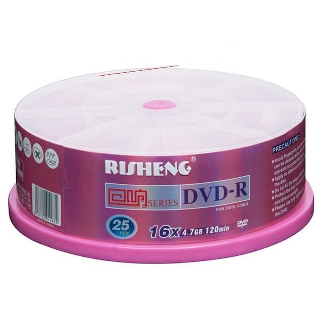 FreeShipping! Hight Quality,Gift - dvd-r cd rom dvd+r 4.7gb 16x 25 blank cd dvd discs