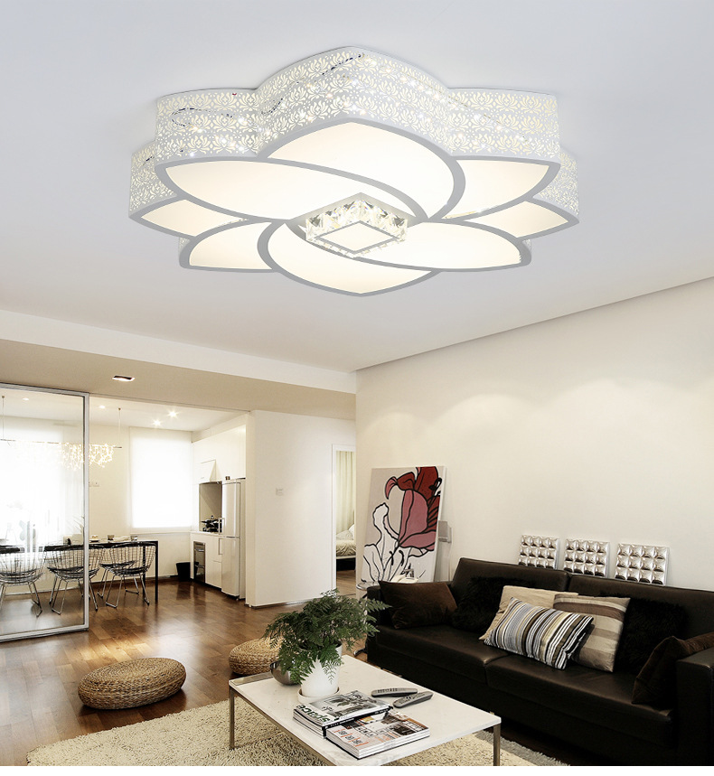 7a62223e0e3 2019 Shaped Ceiling Lamp Personality Creative Beautiful LED Modern ...