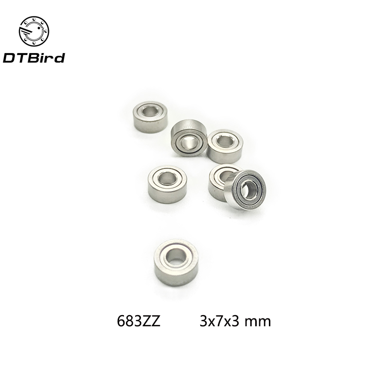 50Pcs High quality 683ZZ L-730ZZ ball bearing 3x7x3 deep groove ball bearing free shipping free shipping 50pcs mje15033g 50pcs mje15032g mje15033 mje15032 to 220