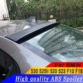 Для BMW 530 525li 520 523 F10 F18 to up Универсальный Высококачественный ABS Материал грунтовка или белый или черный DIY Краска спойлер на крыше