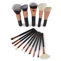 15pcs Set MAANGE Complete Professional Makeup Kit Contouring Foundation Powder Blush Cosmetic Makeup Brush Eyeshadow Set