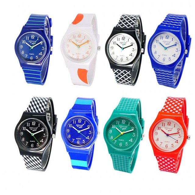 new Willis fashion watch watch Four Leaf Clover Design Water Resistant with Sili