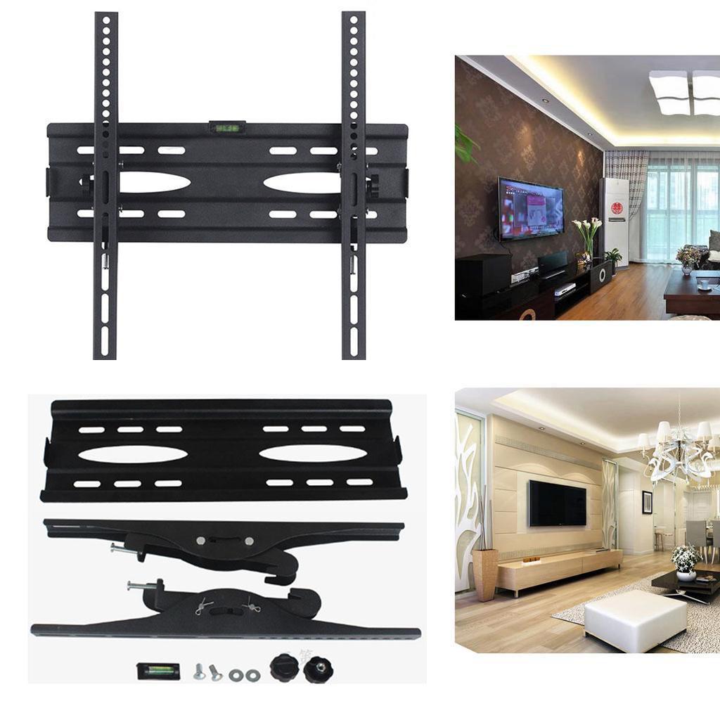 Général un fixe LED LCD TV noir mur 25mm support de montage 430mm 50 kg 400mm