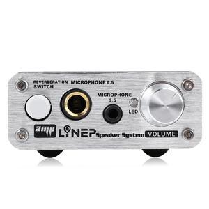 Image 2 - مكبر صوت مسبق من lyneبولوياو بملف متحرك ، ميكروفون ثنائي القناة ، وهو مناسب مع وظيفة مفتاح صدى