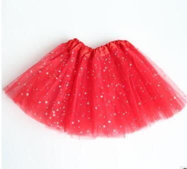 Summer Kids Baby Star Glitter Dance Tutu Skirt For Girl ChildrenODDE