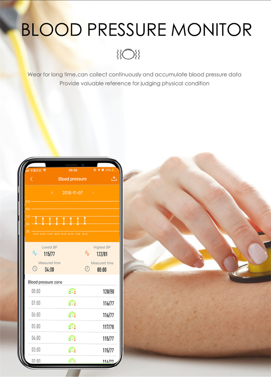 HTB1D6XZeL1H3KVjSZFHq6zKppXan F21 Smart Bracelet GPS Distance Fitness Activity Tracker IP68 Waterproof Blood Pressure Watch Sleep Monitor Smart Band Wristband
