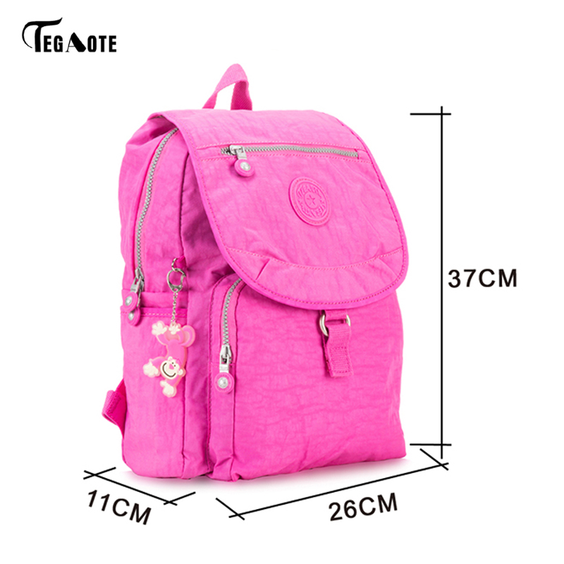 TEGAOTE Children Backpack Schoolbags Lightweight Knapsack For Youth Kids  Boys Girls School Bags for Teens Classic Mini Backpacks-in Backpacks from  Luggage ... ce0db65988d83