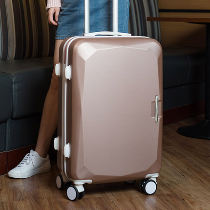 20 22 24 26 inch suitcase, universal wheel luggage, female Korean version, small fresh password travel box trunk, girl suitcase