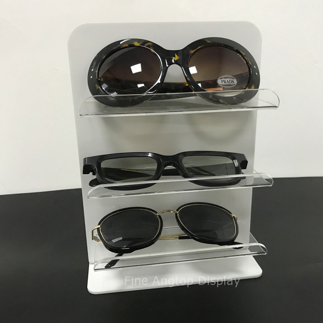 c8b6d1ac1e8dce Acryl Plxiglass Zonnebril Glazen Display Retail Show Standhouder Rack 3  layer