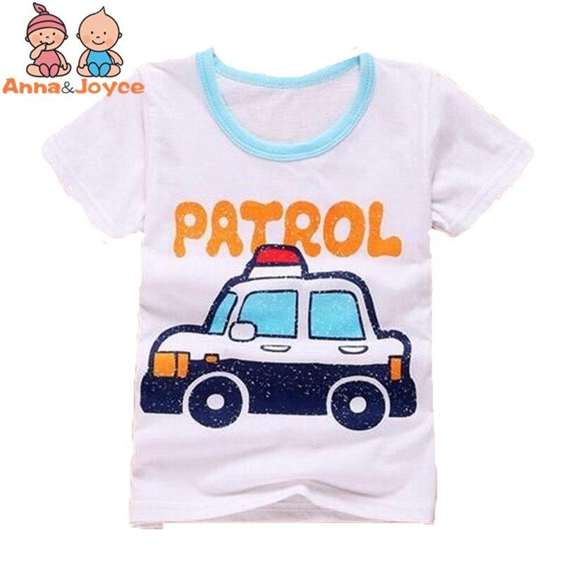 New boys girls T-shirt Baby Cartoon tops Child Summer T-shirt Cotton Boy Girl clothes tst0013