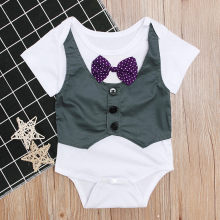 childrens clothes for boys Jumpsuit Jacket Gentry children clothing 2019 baby clothes 0 to 3 months roupa menino#G8(China)