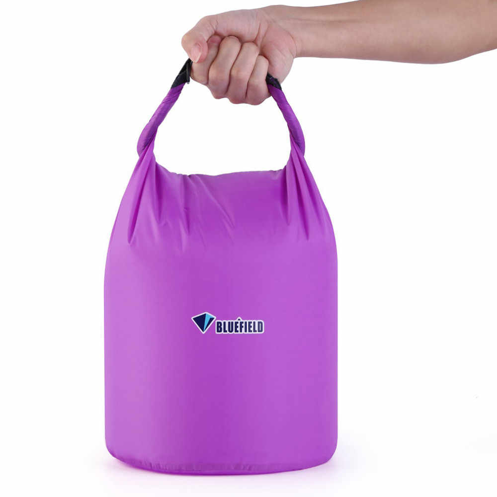 Açık 6 renk 10L 20L açık yüzme su geçirmez çanta kamp Rafting depolama kuru çanta ayarlanabilir kayış kopçası