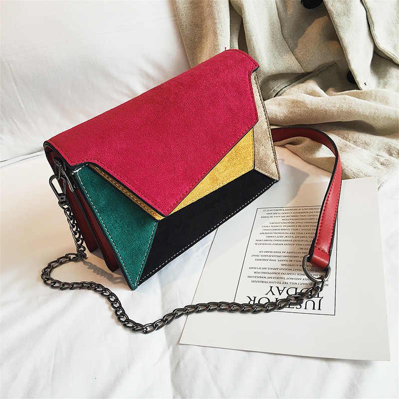 924ce3593b ... Gykaeo 2018 Winter Small Bag Girl Woman Luxury Handbags Women Bags  Designer Camera Shoulder Bags Brand