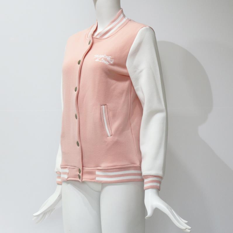HTB1D6YvcFzqK1RjSZSgq6ApAVXaZ Women Baseball Jacket Casacos Femininos Preppy College Jackets Bomber Jacket 2018 New Autumn Winter Coats Basic Outwear XXL
