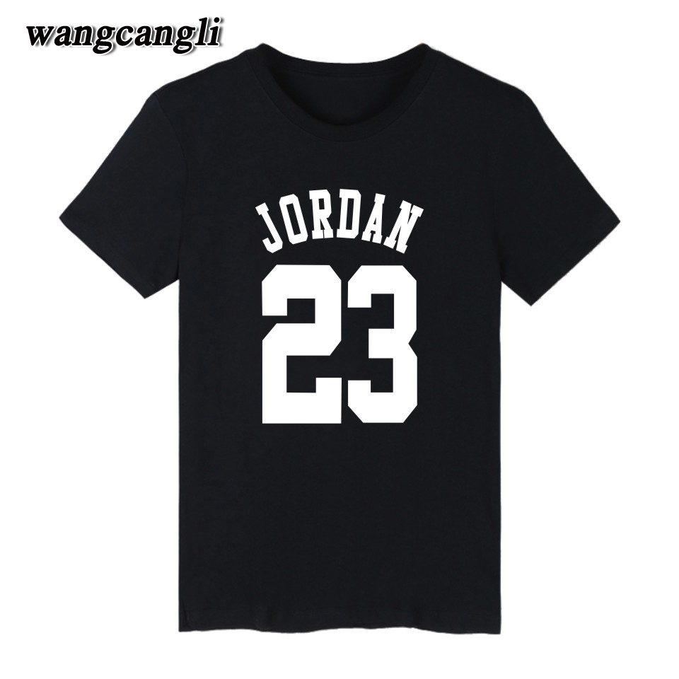 Couple t shirt design white - 23 Jordan T Shirt 2017 Fashion Printed 70 Cotton Short Sleeve Couple T Shirt Design