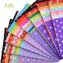 Printed Felt Non Woven Fabric 1mm Thickness Polyester Cloth For Sewing Dolls Crafts Home Decoration Pattern Bundle 30pcs15x15cm