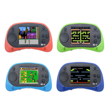 HAOBA 2.5 Polegada 8 Bit tela Colorida Handheld Jogadores Jogo Com Jogos de Console embutido 168 Clássico