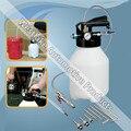 6L Aire Neumático Extractor de Fluidos ATF aceite de la Transmisión Automática De Recarga del Dispensador Kit de Herramientas de la bomba Con 8 unids Adaptador Para VW AUDI FORD Benz