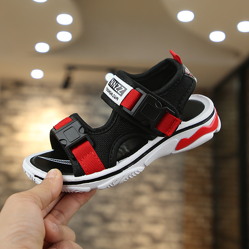 2019 Summer New Children's Clothing Men And Women Sandals Girls Beach Shoes Fashion Classic Non Slip Big Boy Students