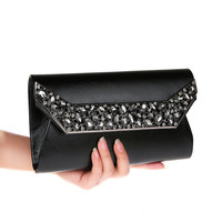 2019 New Women Makeup Bag Elegant Noble Rhinestone Banquet Bag Gorgeous Casual Makeup Bag Bling Crystal Lady Christmas Gift