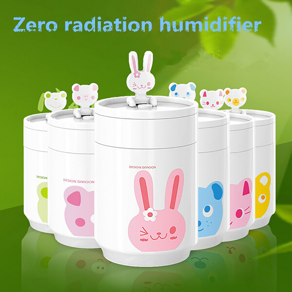 Mini Cartoon USB Portable Air Humidifier Ultrasonic Cute Coffee Cup Essential Oil Aroma Diffuser Home Office Mist Maker Fogger cute mini whale design usb portable air humidifier ultrasonic cartoon essential oil aroma diffuser home office mist maker fogger