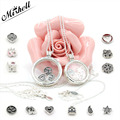 Two Sizes (60CM & 75CM )Newest Fits Pandora Jewelry 925 Sterling Silver Floating Locket Pendant Necklaces