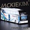 Alta Simulación Exquisita Colección Juguetes Caipo Styling Car Model 1:38 Aleación Modelo de Autobús Bus Turístico Fast & Fruious