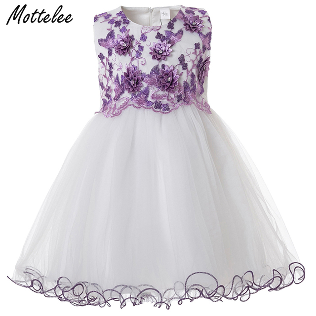 3535377c6 Mottelee Toddler Girls Dress Elegant Princess Birthday Baby Ball ...