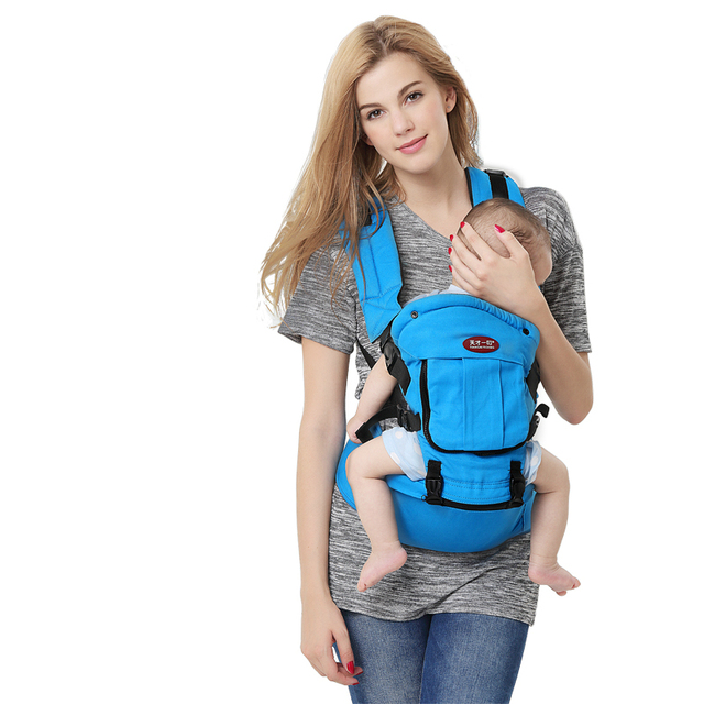 Venda quente de Verão Estilingue Do Bebê Respirável Fezes Cintura Bebê Cinto de Ombro Dupla de Ombro Bolsa Multifuncional Mochila Bebê Assento Quadril