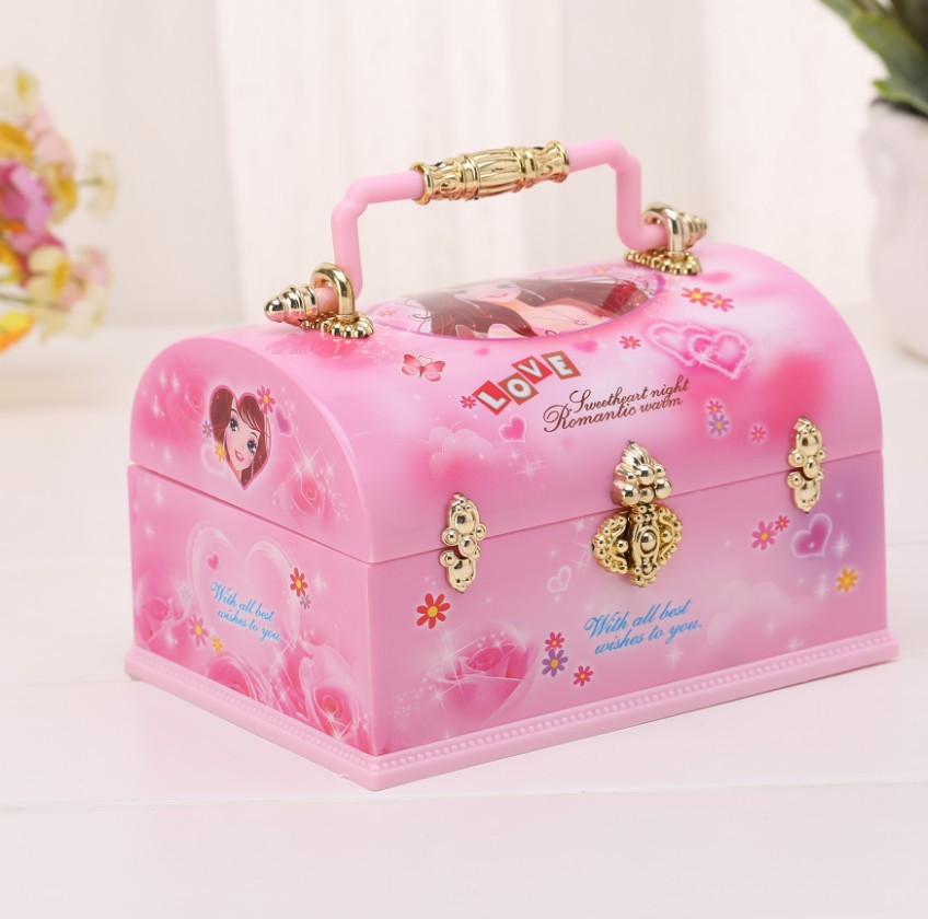 Cute Jewel Case Moded Cheap Music Boxes Creative Gift Gifts For Kids Musical Music Boxes Boxs Children Toys Decorations For Home