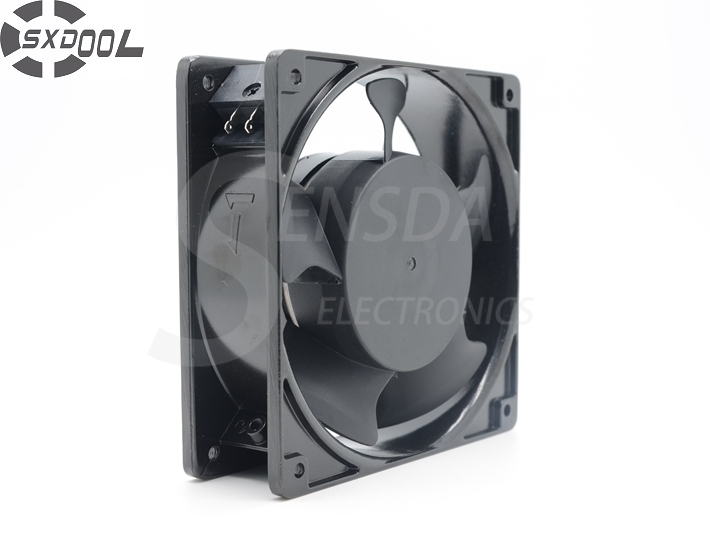 цены на SXDOOL 4C-230HB 120 * 120 * 38MM 12cm 120mm 230V 220V AC metal frame axial cooling fan в интернет-магазинах