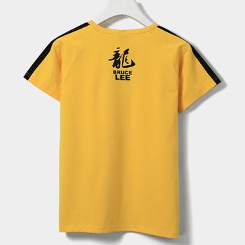 USHINE bawełna koszula odzież sztuki walki WingChun KungFu koszula koszulka z krótkim rękawkiem klasyczny KungFu mundurek strój mężczyzn tanie i dobre opinie krótkie spandex COTTON Zapobiega marszczeniu oddychająca Odporna na mechacenie Koszule Dobrze pasuje do rozmiaru wybierz swój normalny rozmiar