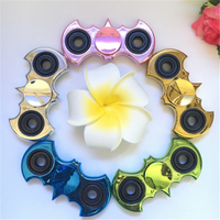 Hand Spinner Metal Batman Style Fidget Spinner Stress Cube Torqbar Brass Spinners Focus Keep Toy And