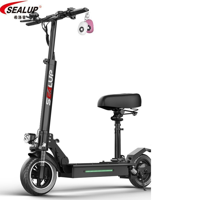 SEALUP véhicule de Skate électrique adulte peut pliable deux tour étape par étape Portable Mini batterie à petite échelle véhicule électrique