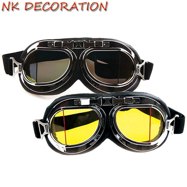 9dec043b10 NK DECORATION Vintage Eyewear Steampunk Goggles Glasses Welding Gothic  Cosplay Cool Goggles For Holiday Carnival Party Mask