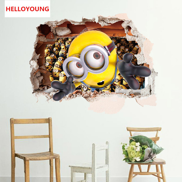 Despicable Me 2 Minions DIY Wall Sticker