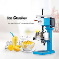 220V Ice Shaver Machine Commercial Electric Snow Ice Maker Easy Operating Ice Shaveing Machine Sand Ice Machine