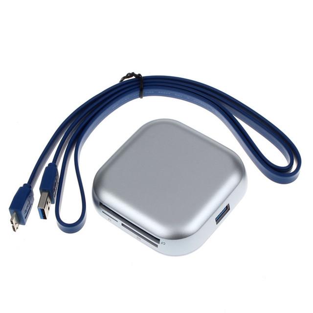 Mecall USB 3.0 Compact Flash Multi leitor de cartão de memória adaptador CF SD TF cartão