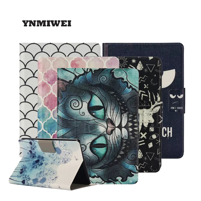 The Tablet Case For Amazon Kindle Fire HD X7 Kindle 7 inch PU Leather Pocketbook Case Cover Tablet Holder YNMIWEI for amazon 2017 new kindle fire hd 8 armor shockproof hybrid heavy duty protective stand cover case for kindle fire hd8 2017