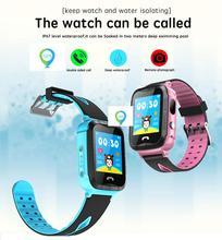 Дешевые Smart Браслет с gps WI-FI Tracker дети интеллектуальные часы SOS смартфон Bluetooth gps часы для ребенка Плавание Smartwatch