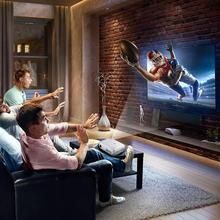 720P Projector LED Protable Video Projector Multimedia Home Cinema Theater Game Projector HDMI VGA USB for Laptop TV EU Plug недорого