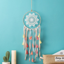 MEMOSTO Dream Cather INS creative gradient tassel dream catcher multi-color Bohemian home pendant