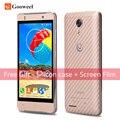 Оригинал Gooweel M9 мини + смартфон 4.5 inch IPS мобильного телефона MT6580 Quad Core Android 5.1 сотовый телефон 1 ГБ + 8 ГБ 3 Г GPS 5.0MP + 5.0MP