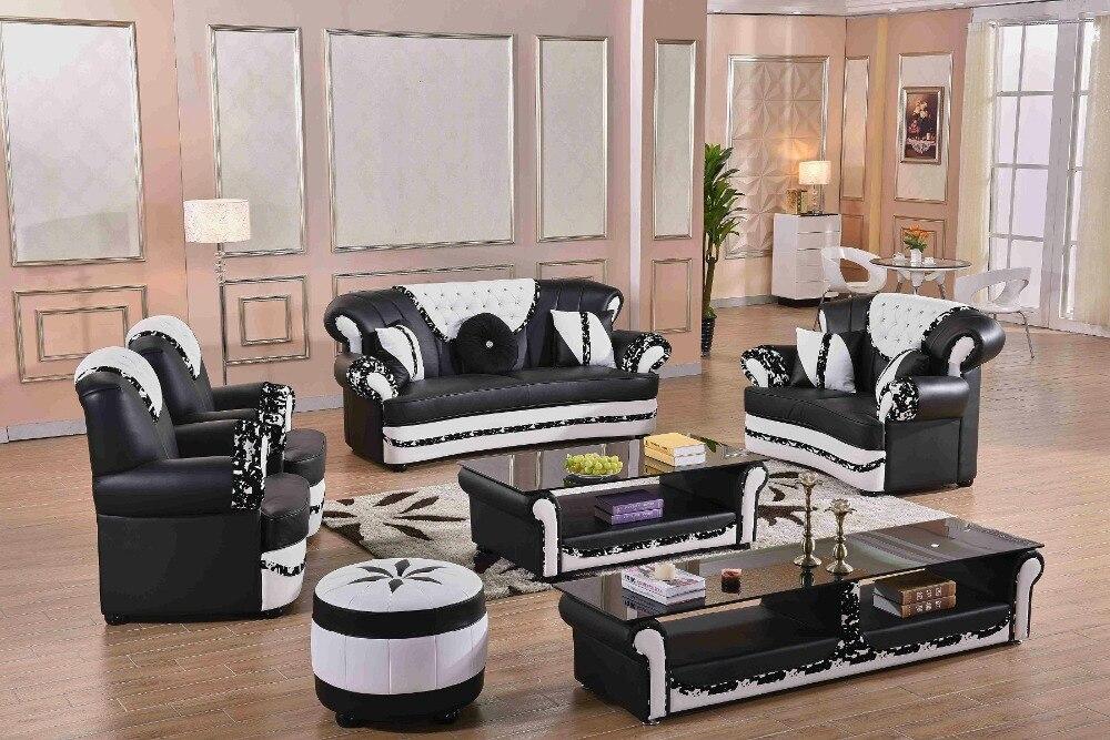 US $2100.0 |2019 neue Top Mode Sitzsack Chaise Schnitts Sofa Wohnzimmer  Sofa Gute Guality Lounge Couch Europäischen Klassische 7 Sitzer Leder-in ...