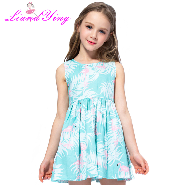 3a1142e1c Children Cartoon Dress 2019 New Summer Style Kids European And ...